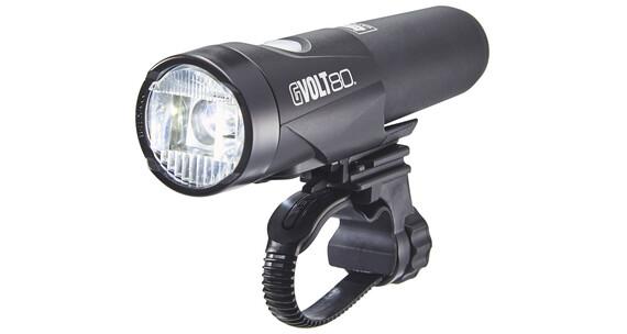 CatEye GVOLT80 HL-EL560GRC Frontlicht mit StVZO schwarz